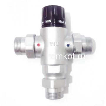 """Термостатический смесительный клапан 1"""" BL8804 Tim"""