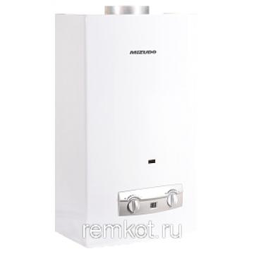 Газовый водонагреватель 11 л 22кВт с мех.модуляцией белый ВПГ 2-11 ММ Mizudo