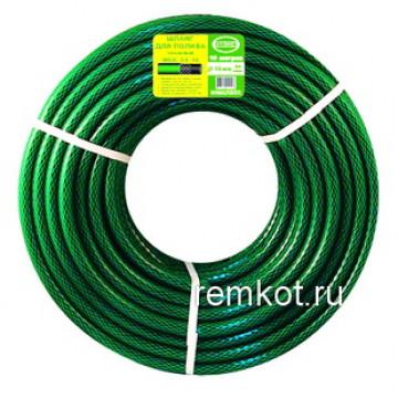 Садовый трехслойный шланг WGH 1/2-10 ПВХ для полива, подключение 1/2, длина 10м, Россия Fercon
