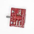 Переключатель электропечки 5-позиции 4гр. контактов