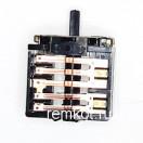 Переключатель электропечки 5-позиции 4гр. контактов ПМ16-5-01